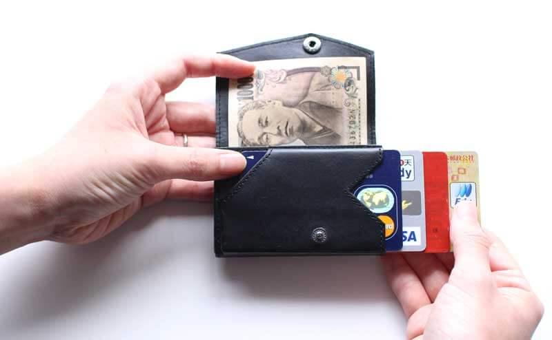 小さい財布 abrAsus